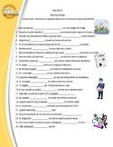 SPANISH:Preterite Spelling Changes Verbs (Zar,Car,Gar)