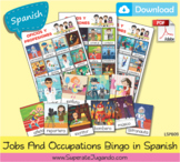 SPANISH Printable Jobs Occupations Bingo / Loteria Oficios
