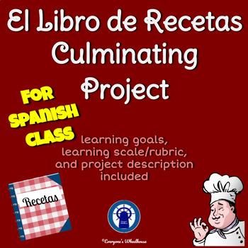 SPANISH Project: El Libro de Recetas