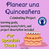 Planear una Quinceañera--Printable SPANISH Project