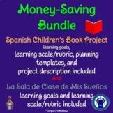 SPANISH Projects Bundle: Children's Book and Sala de Clase de Mis Sueños