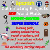 SPANISH Projects & Word Walls Printable SUPER Bundle