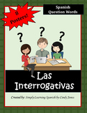 "SPANISH ""Question Words"" POSTERS"