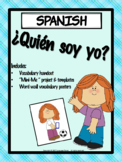 SPANISH -¿Quién soy yo? Who am I? -Project and Resources **RUBRICS INCLUDED!