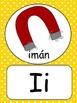 SPANISH RAINBOW ALPHABET WALL CARDS