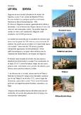 SPANISH READING: CIUDADES DE ESPAÑA: SEGOVIA
