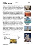 SPANISH READING: CIUDADES DE ESPAÑA: VALENCIA