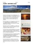 """SPANISH READING:  CIUDADES DE  ESPAÑA """" IBIZA """""""
