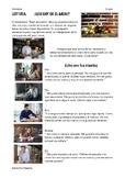 SPANISH READING: ¿QUE HAY EN EL MENU?