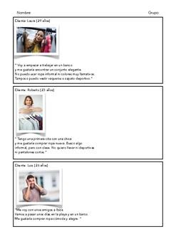 SPANISH READING: ¿QUE ME PONGO?