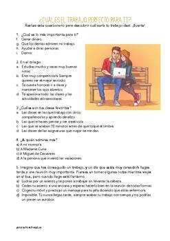 SPANISH READING: ¿TE GUSTA IR AL COLEGIO?