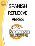 SPANISH: REFLEXIVE VERBS WORKSHEET - VERBOS REFLEXIVOS.