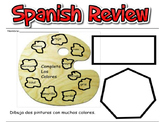 SPANISH REVIEW ASSESSMENT- ELEMENTARY