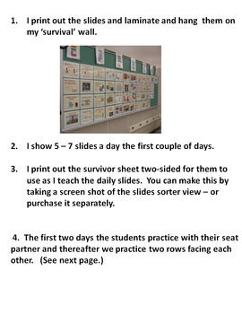 0003 SPANISH ROOM DECORATIONS - 50 MUSICAL SURVIVAL EXPRESSIONS