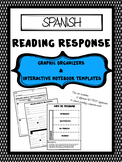 SPANISH - Reading Response Graphic Organizers for Reading Comprehension