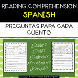 SPANISH - Reading Comprehension Passages and Questions - D
