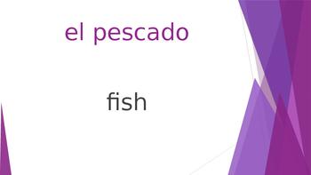 SPANISH - Realidades 1 Capítulo 3B Revision PPT