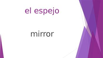 SPANISH - Realidades 1 Capítulo 6A Revision PPT
