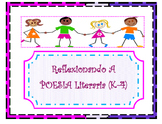 SPANISH Reflection Literary Poetry Organizer (K-4)