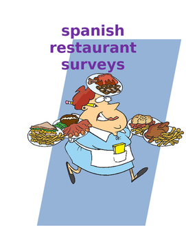SPANISH Restaurant surveys