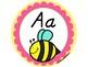 SPANISH Round Alphabet Signs- Manuscript