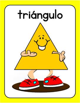 SPANISH SHAPES ...Figuras geometricas