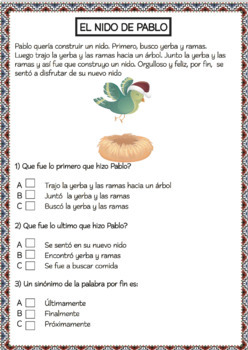 SPANISH SHORT STORIES with Comprehension Activities