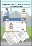 SPANISH SOCIOCULTURAL ACTIVITIES Las Redes Sociales