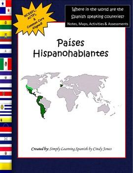 SPANISH SPEAKING COUNTRIES *No Prep Bundle!