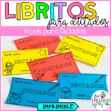 SPANISH SPELLING TEST BOOKLET/ LIBRITO PARA DICTADOS