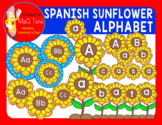 SPANISH SUNFLOWER ALPHABET AND WORD WALL HEADERS