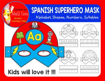 SPANISH SUPERHERO MASK