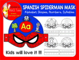 SPANISH SUPERHERO SPIDERMAN MASK
