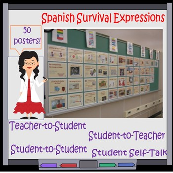 0002 SPANISH ROOM DECORATIONS - SURVIVAL EXPRESSIONS TOP 50