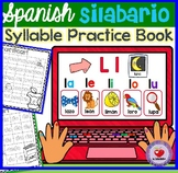SPANISH SYLLABLES PRACTICE BOOK