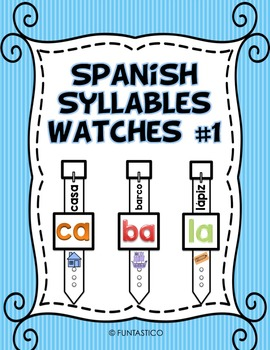 SPANISH SYLLABLES WATCHES #1