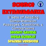 SPANISH Science Extravaganza Reading Passages, Questions,