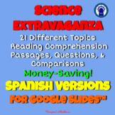 SPANISH Science Extravaganza Readings & More Mega Bundle f