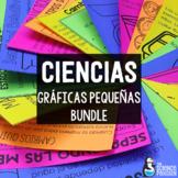 SPANISH Science Mini-Charts GROWING Bundle