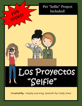 """SPANISH 'Selfie Projects"""" *Pet Selfie Project Included!"""