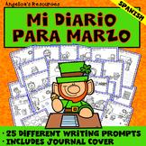 Spanish St. Patrick's Day Activities: Mi Diario Para Marzo - Dia de San Patricio