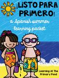SPANISH Summer Homework Pack for Rising First Graders or End of Kinder