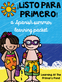 SPANISH Summer Homework Pack for Rising First Graders or End of Kinder