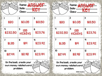 SPANISH Sweet Success Word Problem Task Cards - Color and Save Your Ink Versions