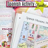 SPANISH TEXAS ACTIVITY BUNDLE including ELL for Texas Hist