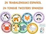 SPANISH TONGUE TWISTERS / TRABALENGUAS CLASE DE ESPAÑOL