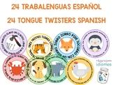 SPANISH TONGUE TWISTERS / TRABALENGUAS CLASE DE ESPAÑOL