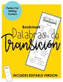 SPANISH: Transitional Words Bookmark - Writer's Workshop