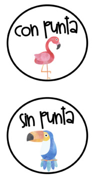 SPANISH Tropical Classroom Decor Set! Over 100 Pages!