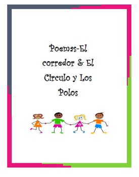 """SPANISH-POEMAS En Español-Two Poems-""""El Corredor"""" & """"El Circulo y Los Polos"""""""